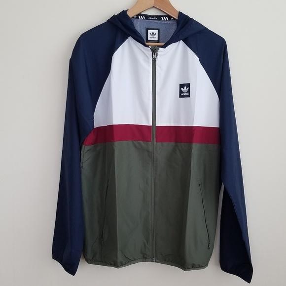 807aa929cd Adidas BB Packable Wind Jacket Men's sz L XL NWT